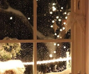 christmas, snow, and winter image