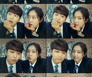 the heirs, cnblue, and park shin hye image