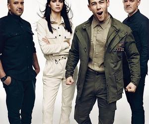 nick jonas, kendall jenner, and Kendall image