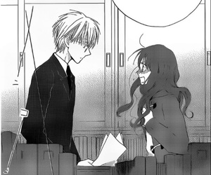 faster than a kiss, manga, and love image