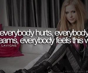 Avril Lavigne, everybody hurts, and scream image