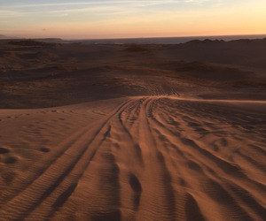 desert, nature, and aesthetic image