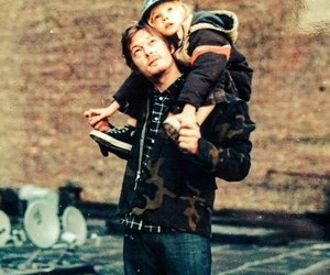 family, norman reedus, and the walking dead image