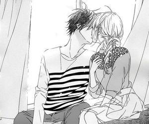 manga, kiss, and love image