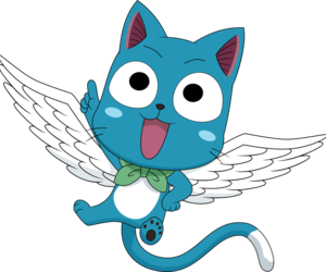 happy, anime, and fairy tail image