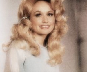 dolly parton and vintage image