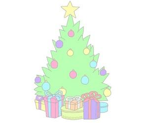 overlay and christmas image