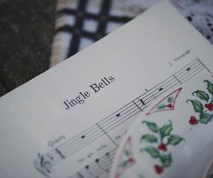 christmas, jingle bells, and music image