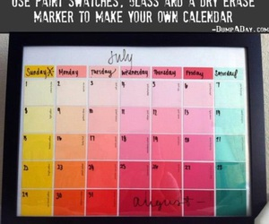 calendar and diy image