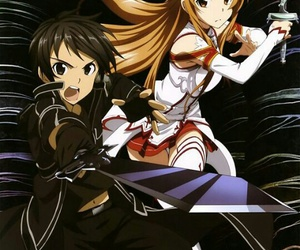 asuna, sword art online, and SAO image