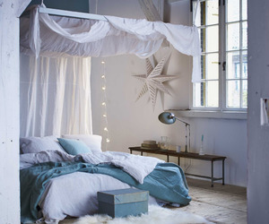 cozy, fairy lights, and girly image