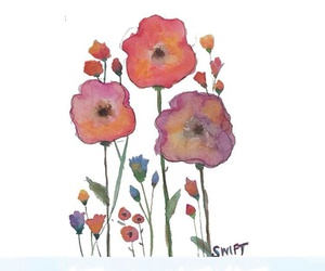 flowers, paint, and png image