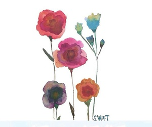 flowers, painting, and png image