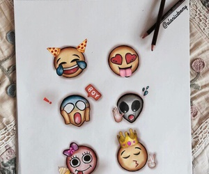 emoji, art, and draw image