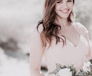 beautiful, girl, and wedding image