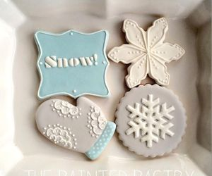 sweet, christmas, and Cookies image