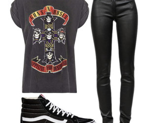 bands, black, and fashion image