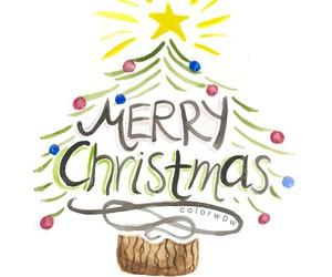 christmas tree, xmas, and draw image