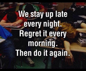 quote, night, and morning image