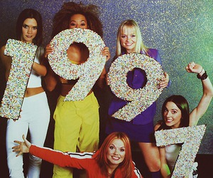 spice girls, 1997, and 90s image
