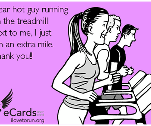 fitness, funny, and running image