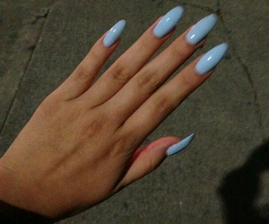 nails, those, and love image