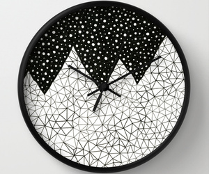 art, home, and wall clock image