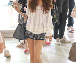 snsd, sooyoung, and airport image