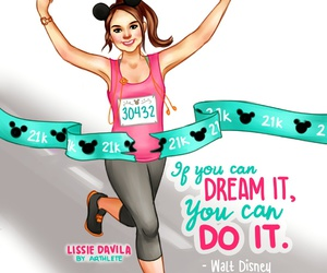 disney, fitness, and workout image