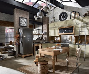 home, industrial, and loft image