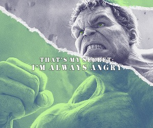 Hulk, Marvel, and bruce banner image