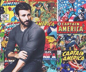 Avengers, america, and captain image