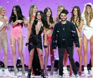 selena gomez, angel, and the weeknd image