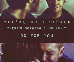 supernatural, brothers, and dean winchester image