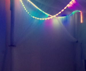 Bett, colourful, and licht image