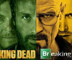 breaking bad, the walking dead, and jesse image