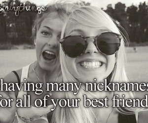 best friends, nickname, and friends image