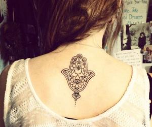 tattoo and hamsa image