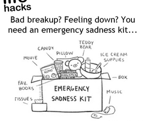 break-up, feel good, and chill image