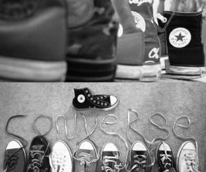 all star, laces, and shoes image