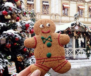 christmas, gingerbread, and winter image