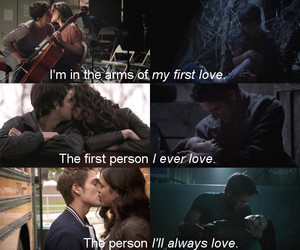 teen wolf, love, and first love image
