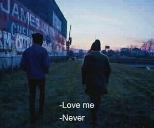 love, grunge, and never image