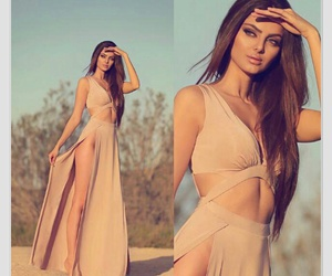 dress, style, and beauty image