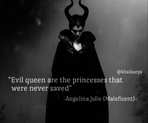black and white, dark, and evil queen image