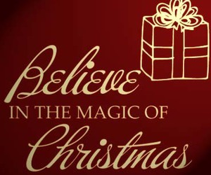 believe, christmas, and magic image