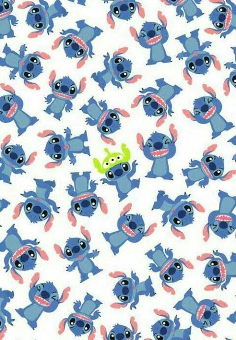 Stitch Wallpaper So Cutee Uploaded By May