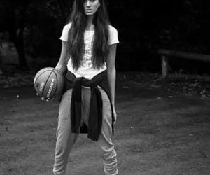 Basketball, girl, and beauty image