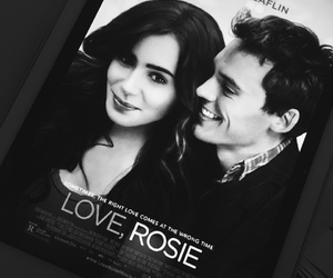 Sam, lilycollins, and claflin image