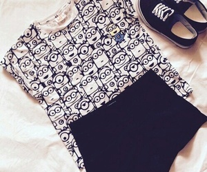 minions, clothes, and outfit image
